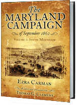 Maryland Campaign of 1862 Book Jacket