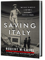 Saving Italy book jacket